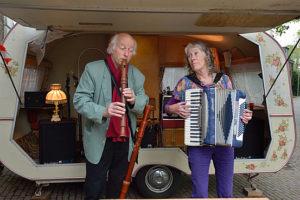 Anneke Rot en Laurens van der Zee Foto Hans Braakhuis